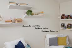 Remember Celebrate Imagine Wall Decal
