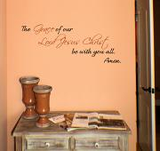 Grace Of Our Lord Wall Decal