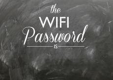 Wifi Password Wall Decal