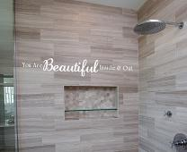Beautiful Inside And Out Wall Decal