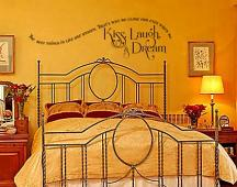 The Best Things In Life Colorful Wall Decal
