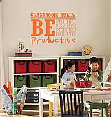Classroom Rules Wall Decal