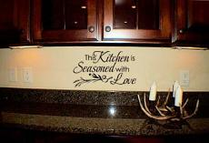 Seasoned with Love Wall Decal