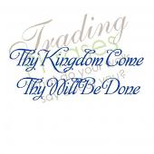 Thy Kingdom Come Wall Decal
