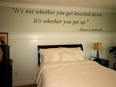 Knocked Down Get Up Wall Decal