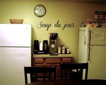 Soup du Jour Wall Decal