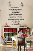 Multi Font In This School Wall Decal
