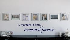 A Moment In Time Treasured Wall Decal
