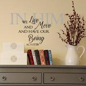 In Him Wall Decal
