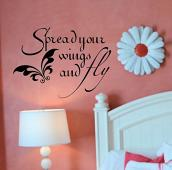 Spread Your Wings Wall Decal