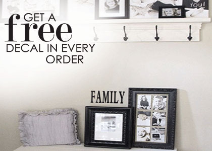 Free decal in every order