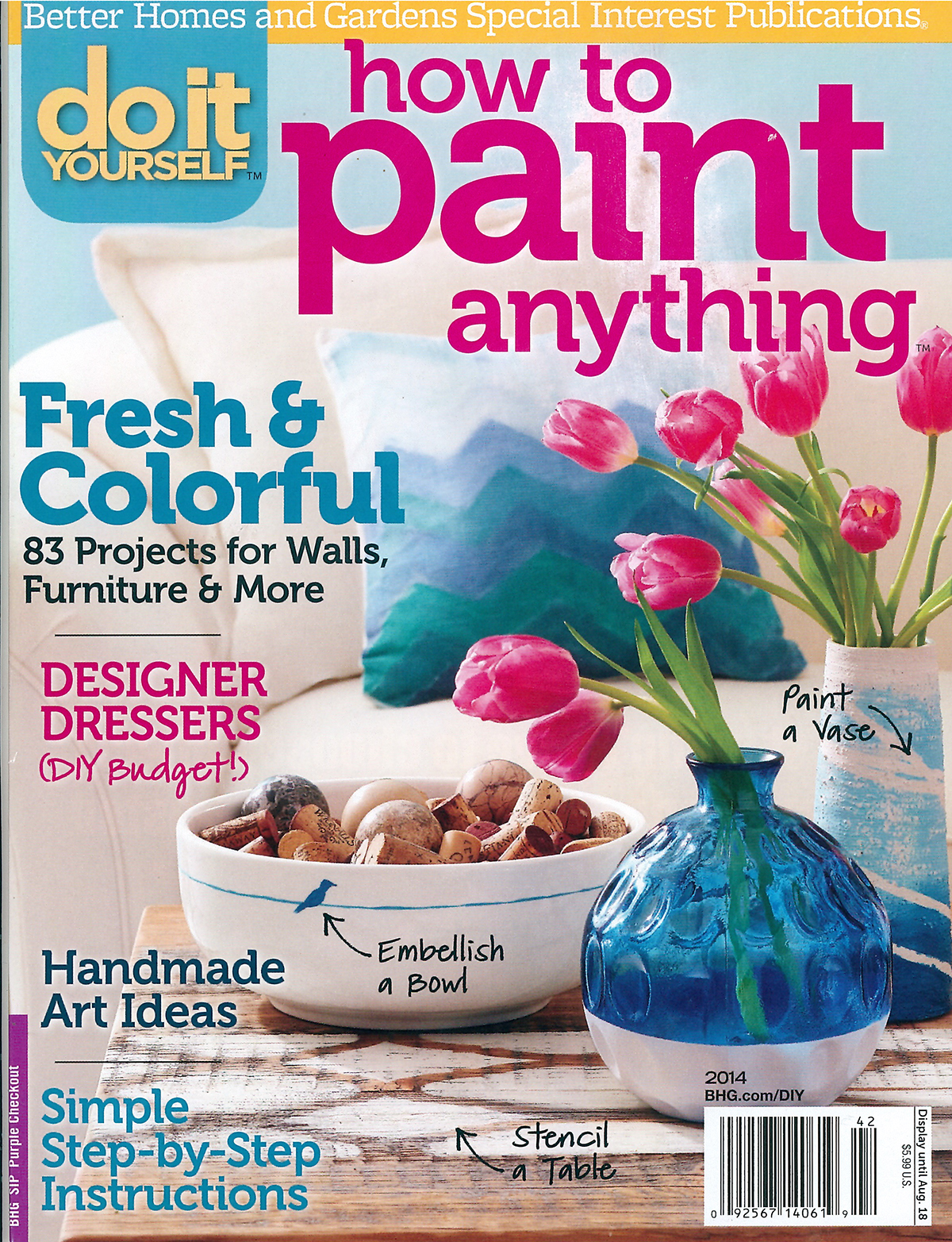 DIY Paint Anything Magazine Decal Article